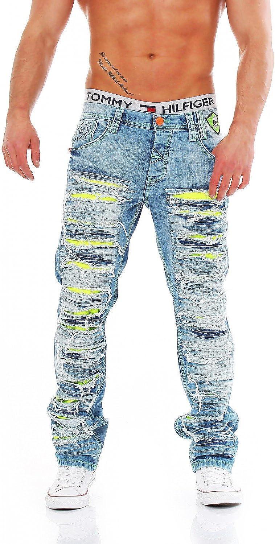 Cipo & Baxx - C-1053 - Regular Fit - - - Men Herren Jeans Hose B073HDLDC8  Vollständige Palette von Spezifikationen 2a2c88