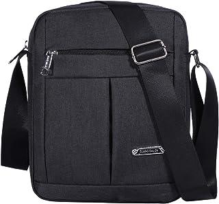 Men's Messenger Bag - Crossbody Shoulder Bags Travel Bag Man Purse Casual Sling Pack for Work Business
