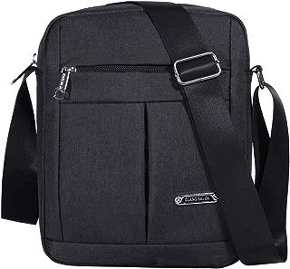 Men's Messenger Bag-Crossbody Shoulder Bags Travel Bag Man Purse Casual College School Bookbag Sling Pack for Work Business