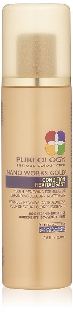 セットアップエリートいらいらするby Pureology NANO WORKS GOLD CONDITIONER 6.8 OZ by PUREOLOGY