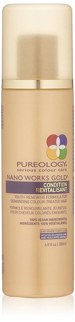 音楽を聴くつなぐ敬意を表するby Pureology NANO WORKS GOLD CONDITIONER 6.8 OZ by PUREOLOGY