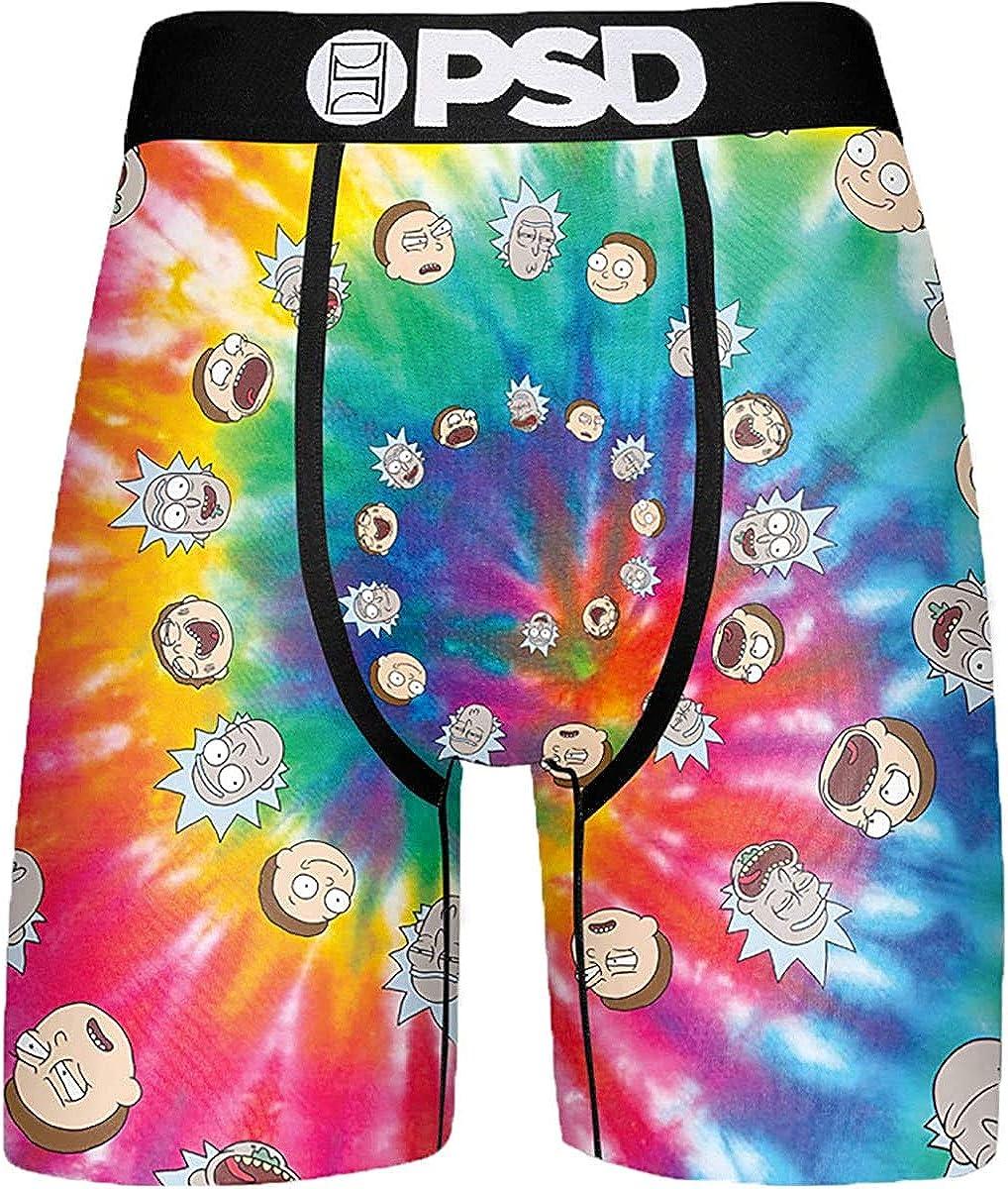 PSD Men's Ram Tie Dye Swirl Boxer Brief Underwear