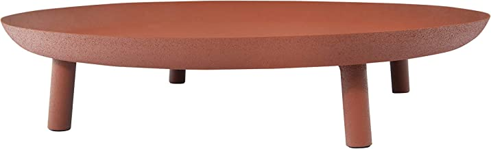 Bloomingville AH0958 Serving Pieces, 13.75 Inch x 3 Inch, Brown