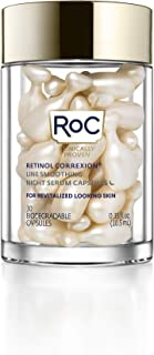 RoC Retinol Correxion Line Smoothing Night Retinol Serum, 30 Capsules