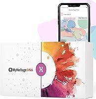 MyHeritage DNA Test Kit: DNA-Test für die Famileinforschung und Herkunfsanalyse, mit über 2,114 geografischen Regionen...