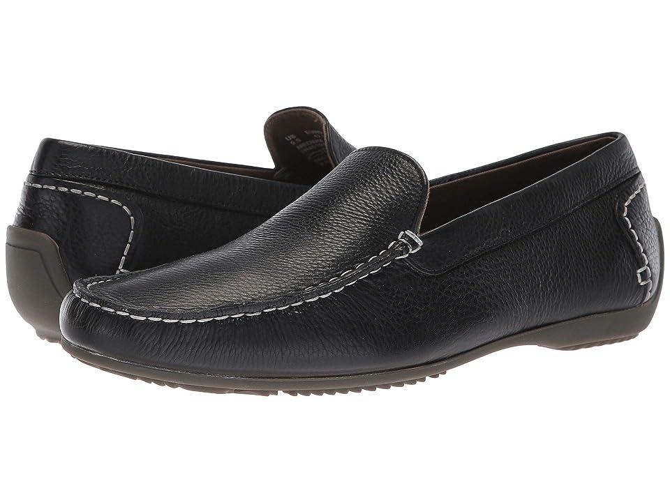 Hush Puppies Schnauzer Slip-On (Black Leather) Men