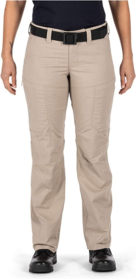 5.11 Tactical Women's Apex Cargo Work Pants, Flex-Tac Stretch Fabric, Gusseted, Teflon Finish, Style 64446