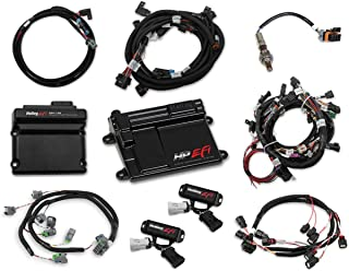 NEW HOLLEY TI-VCT HP EFI ECU KIT & TI-VCT CONTROLLER KIT WITH POWER HARNESS,MAIN HARNESS,COIL HARNESS,INJECTOR HARNESS & SENSORS,NTK O2 SENSOR,COMPATIBLE WITH 2013-2017 FORD COYOTE ENGINES