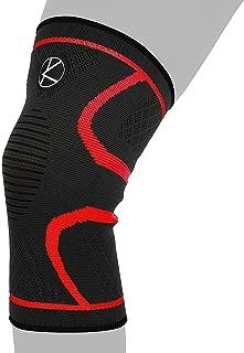 Compression Knee Sleeve for Runners- Best Knee Support for Arthritis Pain, Meniscus Tear, ACL, Pain, Injury, Knee Sleeve for Sleeping, Under Brace. Non-Slip Plus Size Knee Brace for Men, Women, Kids
