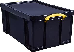 Really Useful Box Plastic Storage Box, 64 Liter, 100% Recycled, 27 3/4