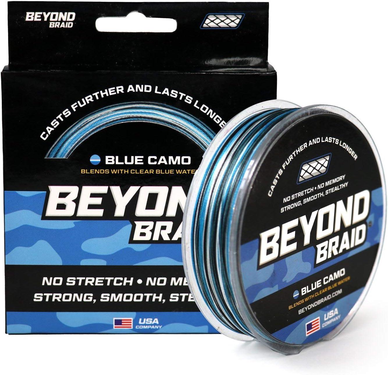 Beyond Braid Braided 1 year warranty Charlotte Mall Fishing Line Resistant - Stre No Abrasion