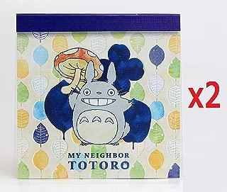 [2 set] Movic My Neighbor Totoro Memo Pad