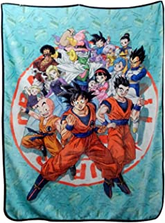 JUST FUNKY Dragon Ball Super Heroes Fleece Blanket, 45 X 60 inches