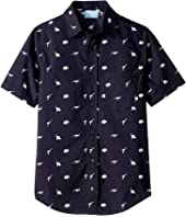 Lanvin Kids - Dino Button Up Shirt (Big Kids)