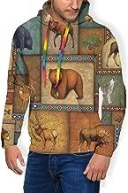 Men's Drawstring Hoodies Plus Velvet Thick Sweatshirts Pullover Fit Sport Tops