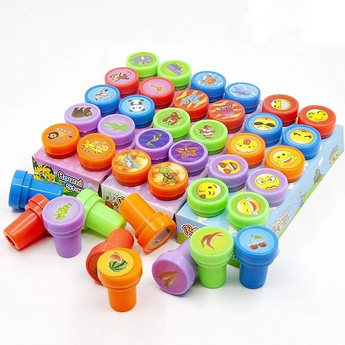 66 opinioni per FISHSHOP Francobolli per Bambini 40 Pezzi Assortiti Stampi per Cartoni Animati