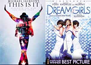 Discover Musical Inspiration - Michael Jackson This is It & Dreamgirls DVD Double Feature Beyoncé, Jennifer Hudson Movie 2 pack