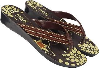 Axter Women's Brown 5016 Slipper
