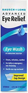 Bausch & Lomb 620252 Eye Wash Removes Foreign Particles 4 Fluid oz