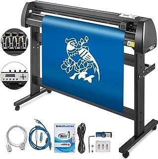 Mophorn Vinyl Cutter Machine 53 Inch Vinyl Cutter 1350mm Plotter Cutter LCD Display Vinyl Plotter Cutter Machine Signmaste...