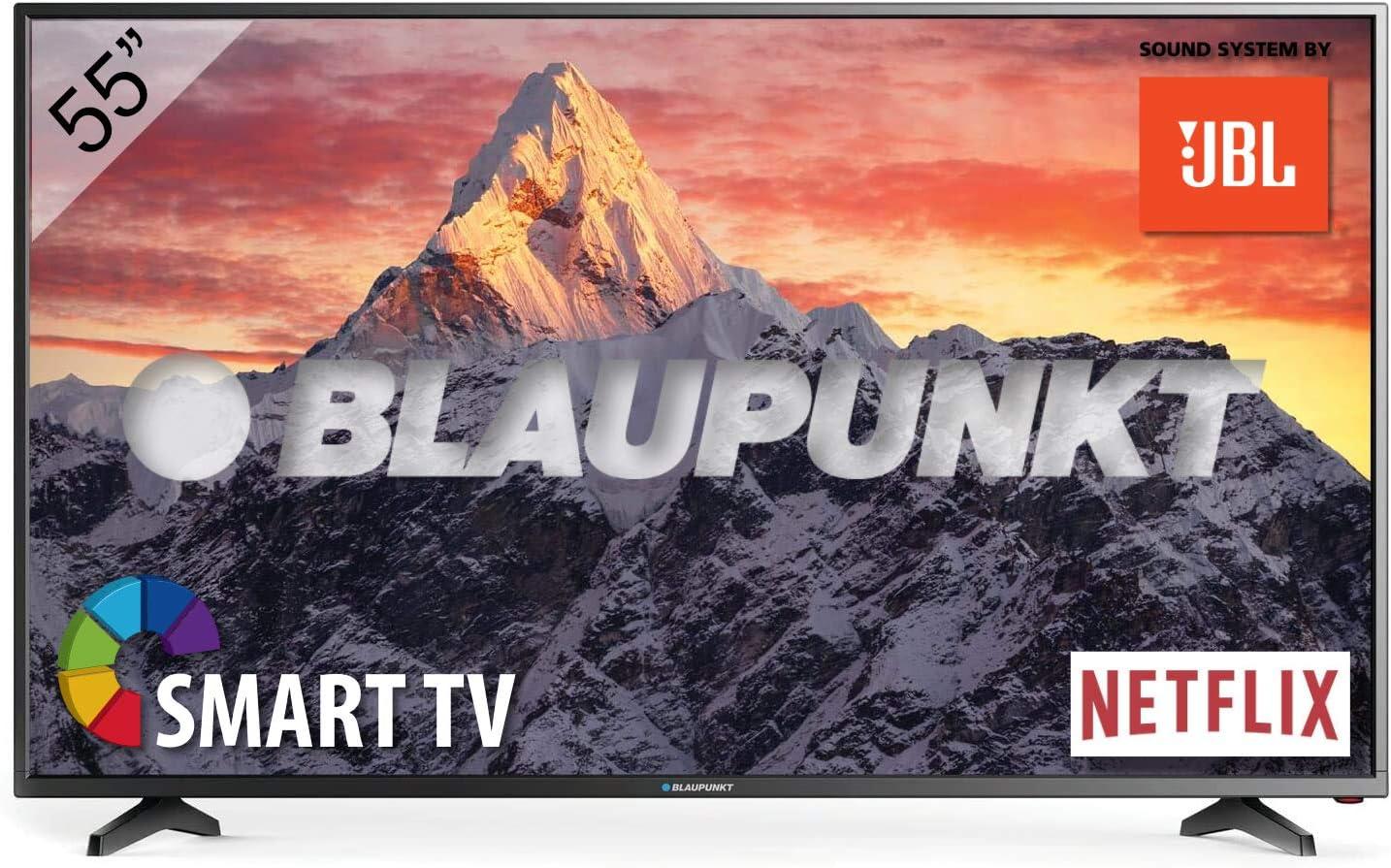 Color Negro HLG Televisor Smart TV LED 43 HDR10 4K Ultra HD UHD Blaupunkt BS43U3012OEB