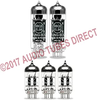 Tung-Sol Tube Upgrade Kit For VOX AC15C1 Amps EL84/12AX7