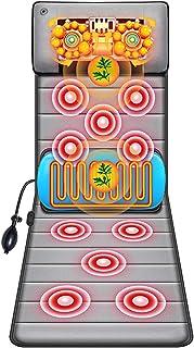 QULONG Masajeador Shiatsu para Espalda Multifuncional Cuerpo Entero Cuello Cintura Espalda Instrumento Eléctrico Masaje En Casa Colchón Silla Cojín De Masaje