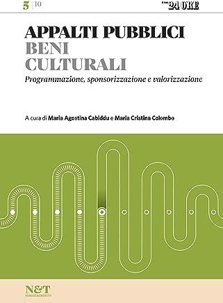 APPALTI PUBBLICI 5 - Beni culturali