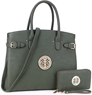 Women's Satchel Purses and Handbags Ladies Shoulder Bags Wallets