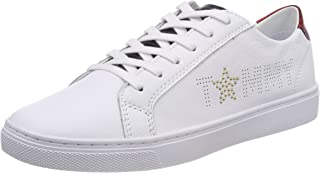 Tommy Hilfiger Tommy Star Metallic Sneaker Womens Fashion Trainers