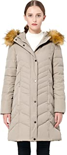 Women's Thickened Mid-Long Down Jacket with Hood