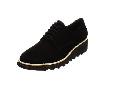 Clarks Sharon Noel, Zapatos de Cordones Derby Mujer