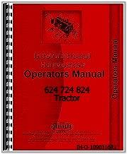 Operators Manual IH International 624 724 824 Tractor