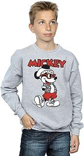 Disney niños Mickey Mouse Hipster Camisa De Entrenamiento