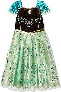 DaHeng Girls Princess Green Cosplay Fancy Party Dress Costume