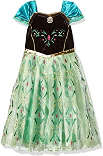 DaHeng Girls Princess Green Cosplay Fancy Party Dress Costume