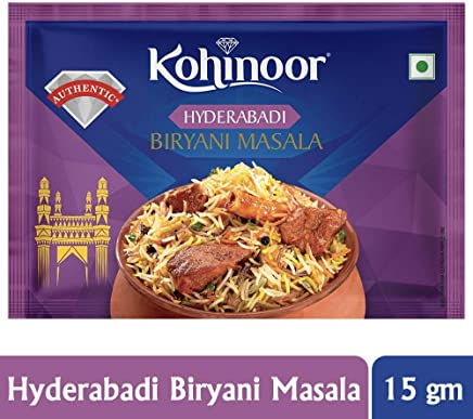 Kohinoor Hyderabadi Biryani Masala, 15g