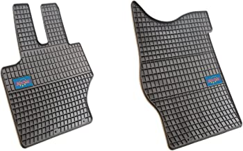 EuroTech Rubber Car Mats For Mercedes C class W204 2007-2014 and CLS C218 2011- Current and E class, W212 2009- No Smell - Custom set MADE IN EUROPE - Laser Measured, Waterproof, All Weather