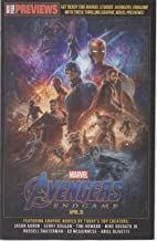 Avengers Start Here Sampler 2019 (Marvel Free Previews), no. 1 (June 2019) (one-shot promo): Avengers End Game, Infinity Gauntlet, etc., with Iron Man, Captain America, Thanos, Guardians of the Galaxy
