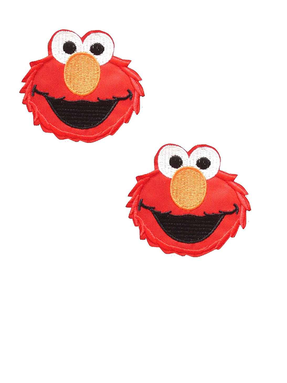 Children Iron On Patch (Lot of 2 pieces) Fabric Applique Motif Decal 2.75 x 2.375  inches