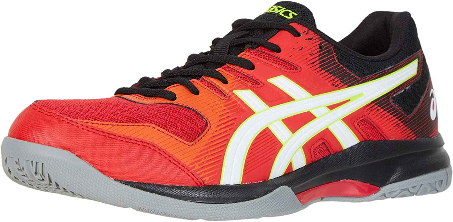 ASICS Gel-Rocket 9 Men's Volleyball Shoes 8 Soldering White Red M Max 73% OFF Speed