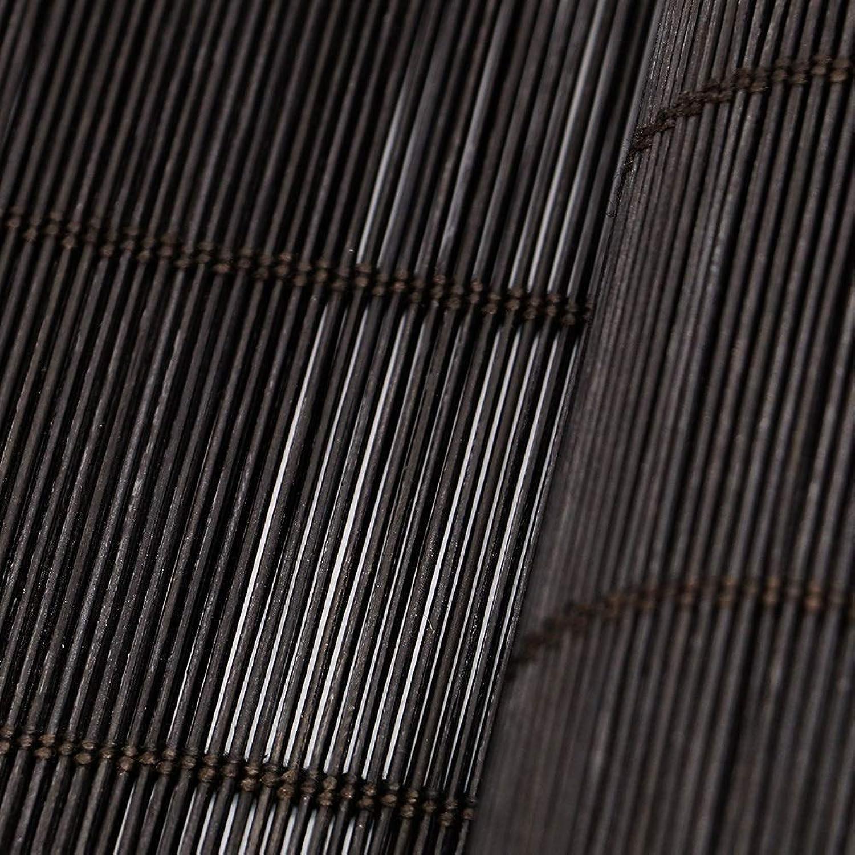 tienda de pescado para la venta TINGTING Contraventanas, Persianas Enrollables De Bambú Natural Natural Natural Para Puertas, Ventanas, Salas De Estar, En El Centro Del Comedor, Particiones, Persianas, Cortinas (Color   Negro, Tamaño   100  120)  la mejor selección de