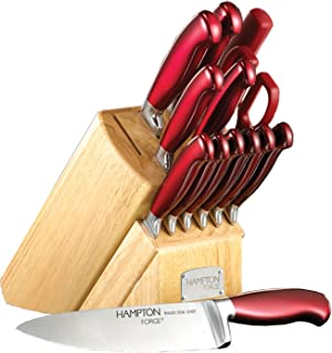 Best hampton forge red knife set Reviews