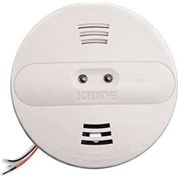 Kidde PI2010 Hardwired Dual Photoelectric and Ionization Sensor Smoke Alarm with Battery Backup