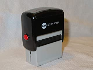 Copy Self Inking Rubber Stamp | Red Ink | for Professional and Personal Use|Fast Drying Ink| Executive Supplies