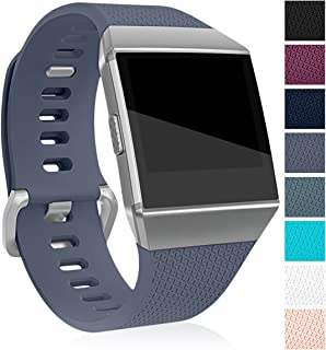 Maledan Replacement Bands Compatible for Fitbit Ionic, Classic Replacement Accessory Wristbands Compatible with Fitbit Ion...