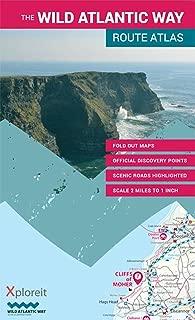 The Wild Atlantic Way Route Atlas: Ireland's Journey West 1:126,720