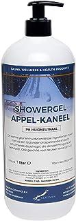 Showergel Appel-Kaneel 1 Liter - met gratis pomp