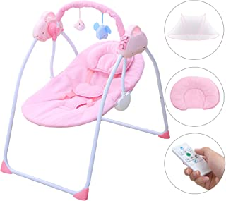electric swinging baby bed