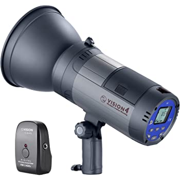 Neewer Vision 4 300Ws 2.4G Li-ion Battery Powered Outdoor Flash Strobe Cordless Monolight with Trigger to Cover 700 Full Power Flashes Bowens Mount